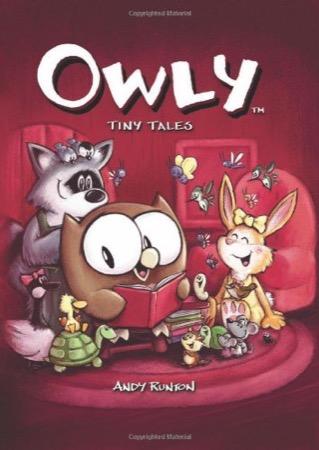 Owly: Tiny Tales cover