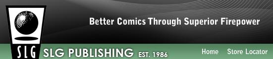 SLG Publishing banner