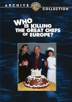 Who Is Killing the Great Chefs of Europe? (first cover)