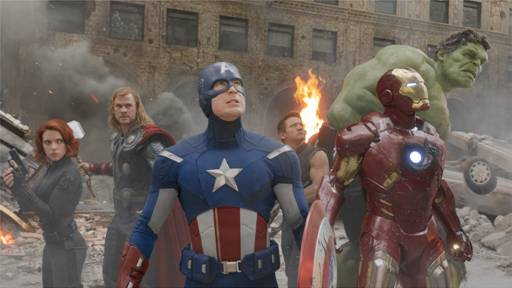Avengers movie still