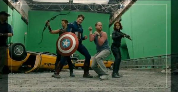 Avengers with Joss Whedon from the gag reel