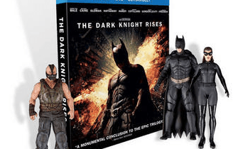 The Dark Knight Rises exclusive combo pack