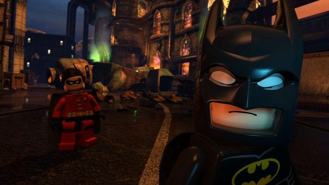 Batman & Robin in Lego Batman: The Movie