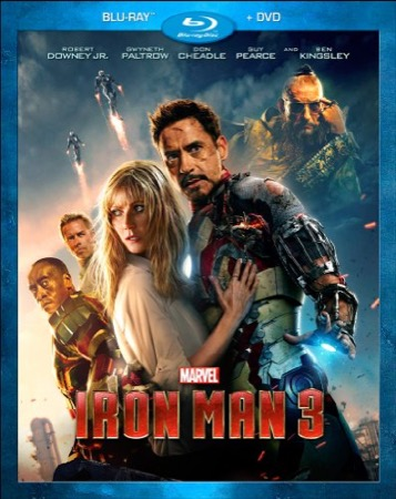 Iron Man 3 cover