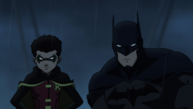 Son of Batman: Damian and Batman