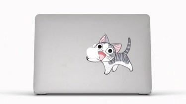 Chi in Apple MacBook Air Stickers ad