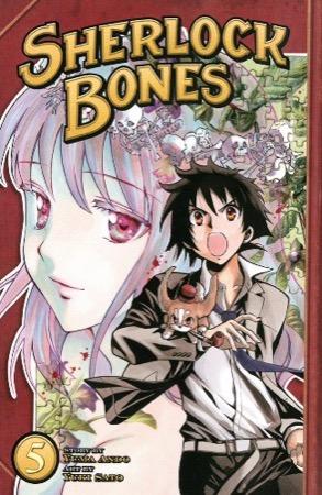 Sherlock Bones volume 5 cover