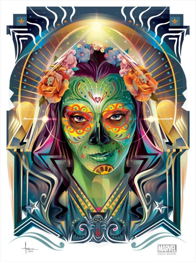Gamora by Orlando Arocena