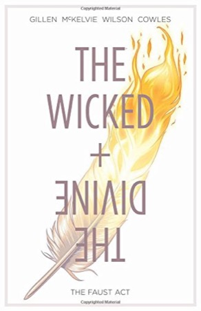 The Wicked + the Divine Volume 1: The Faust Act cover