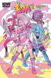 Jem and the Holograms #1 cover by Ross Campbell