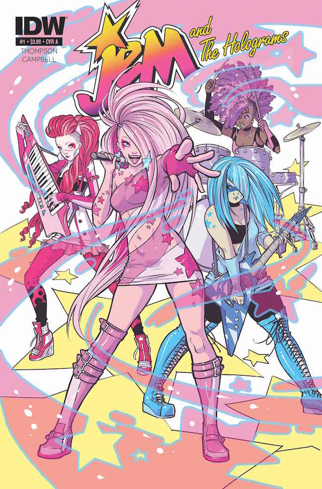 Jem and the Holograms cover by Ross Campbell