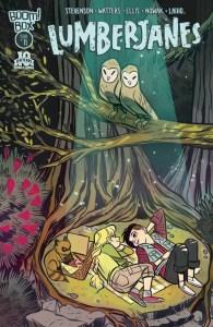 Lumberjanes #11 cover