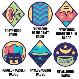 All the Lumberjanes badges you can now buy