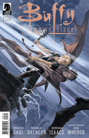 Buffy the Vampire Slayer Season 10 #5 cover by Steve Morris
