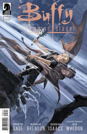 Buffy the Vampire Slayer Season 10 #5 cover by Steve Morris
