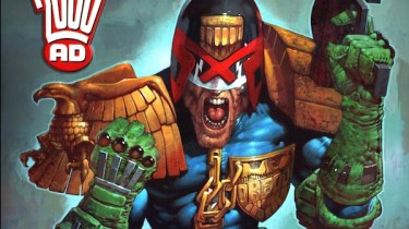 Judge Dredd painted by Greg Staples