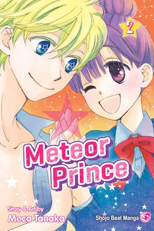 Meteor Prince Volume 2 cover