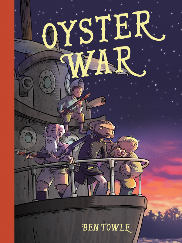 Oyster War cover