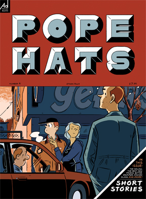 Pope Hats #4 cover