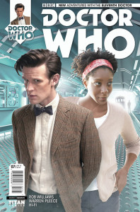 Doctor Who: The Eleventh Doctor #7 photo cover