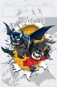 Batman & Robin #36 LEGO variant cover