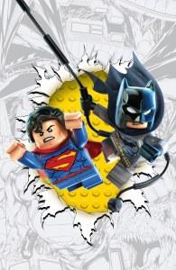 Batman/Superman #16 LEGO variant cover