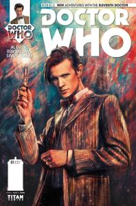 Doctor Who: The Eleventh Doctor #1 cover