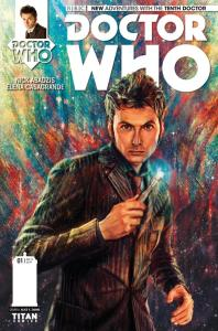 Doctor Who: The Tenth Doctor #1 cover