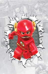 The Flash #36 LEGO variant cover