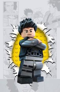 Grayson #4 LEGO variant cover