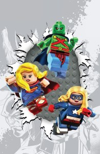 Justice League United #6 LEGO variant cover