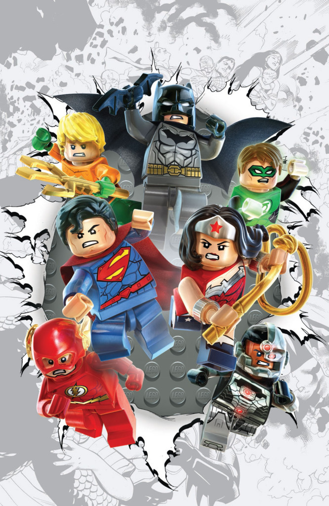Justice League #36 LEGO variant cover