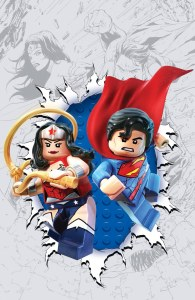 Superman/Wonder Woman #13 LEGO variant cover