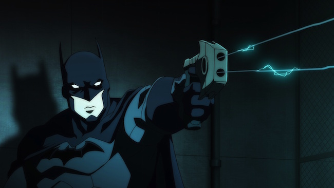 Son of Batman promo image - Bat-gun