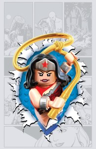 Wonder Woman #36 LEGO variant cover