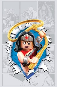 Wonder Woman #36 LEGO variant cover