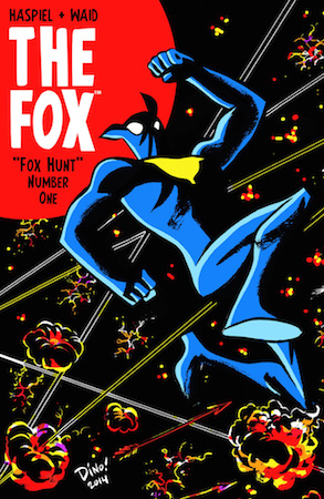 The Fox #1 cover by Dean Haspiel