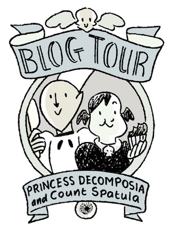 Princess Decomposia and Count Spatula blog tour