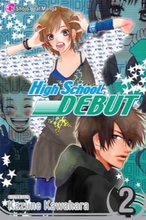 High School Debut volume 2 cover