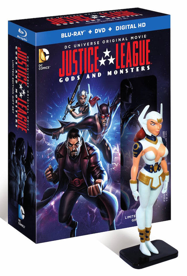 Justice League: Gods & Monsters Limited Edition with figure