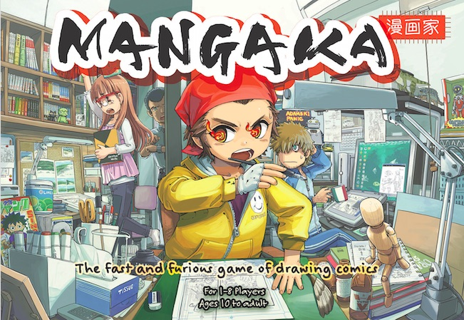 Mangaka game art