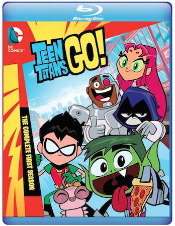 Teen Titans Go! The Complete First Season cover