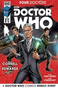 Doctor Who: Four Doctors #1 cover