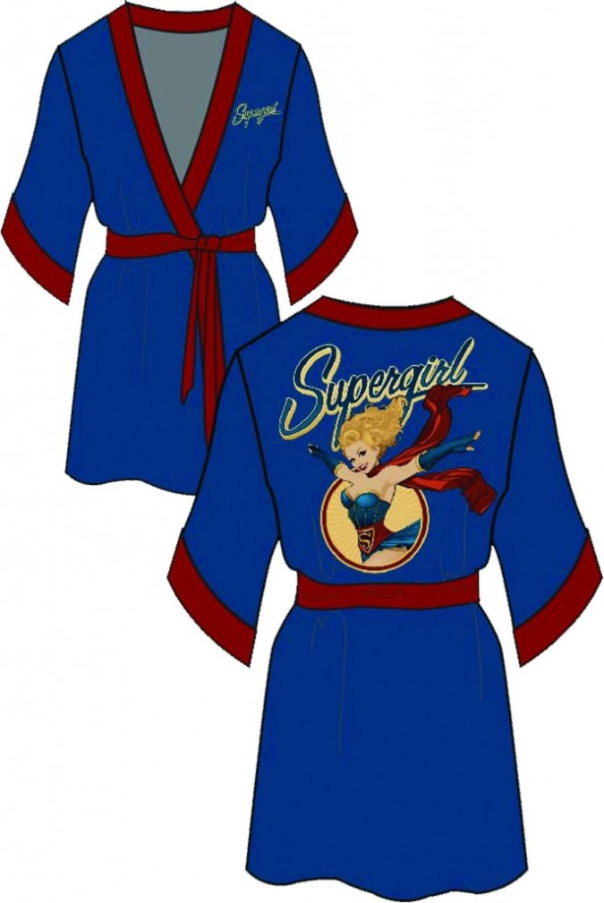 Blue Supergirl Robe