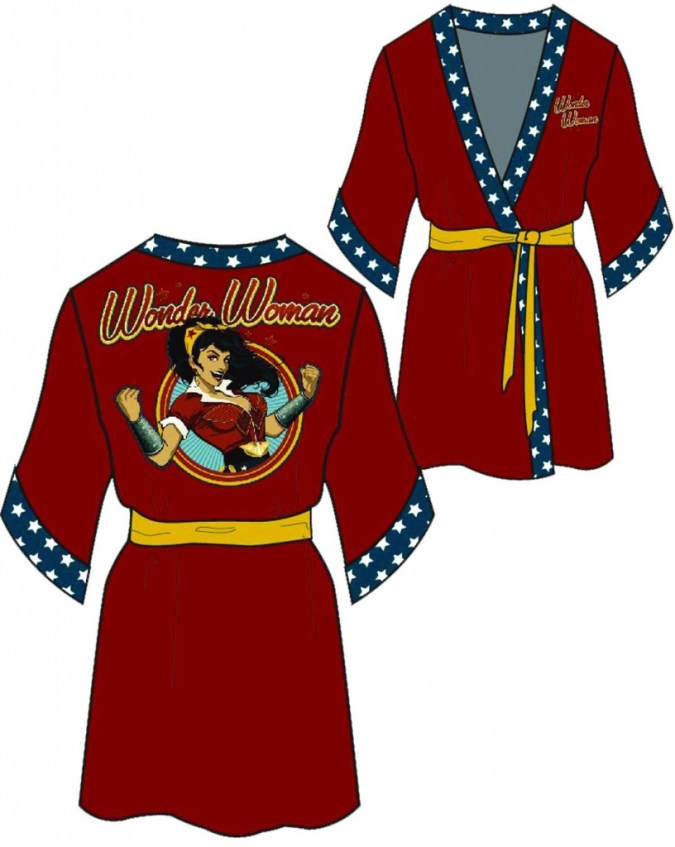 Wonder Woman Red Robe