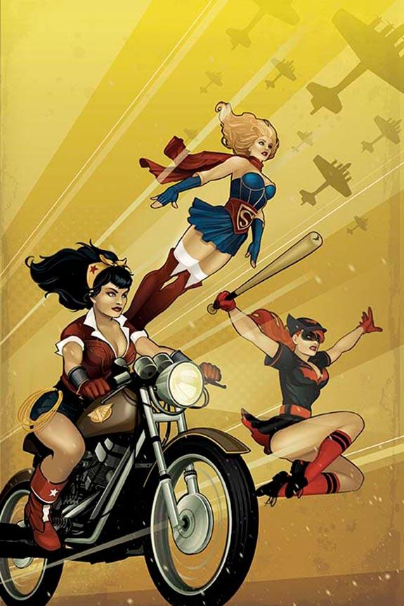 DC Bombshells Become Comic