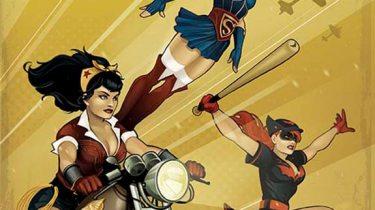 DC Comics Bombshells cover