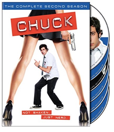 Chuck: The Complete Second Season cover