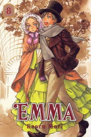Emma volume 8 cover
