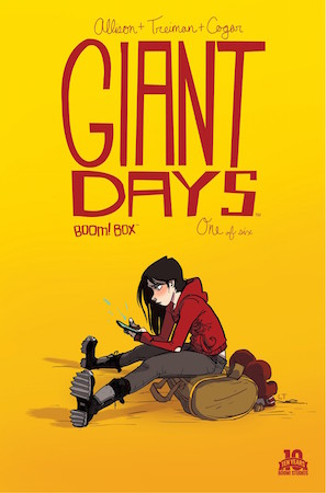 Giant Days #1 cover